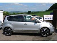 Nissan Note 1.6 16v auto 2012MY N-TEC + Automatic 2012 petrol 5 door sat nav