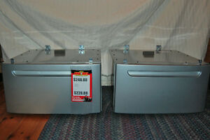 Two New Laundry Pedestals For Sale