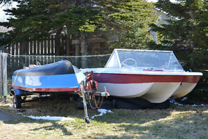 2 Boats and Trailer