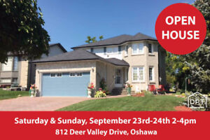 Home for Sale in Highly Sought after North Oshawa