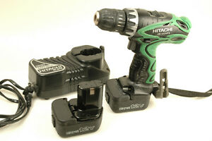 Hitachi 12V Drill (DS12DVF3) Incl. 2 Batteries