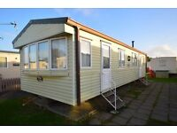 3 bed double-glazed static caravan for sale *INC 2017 SITE FEES*