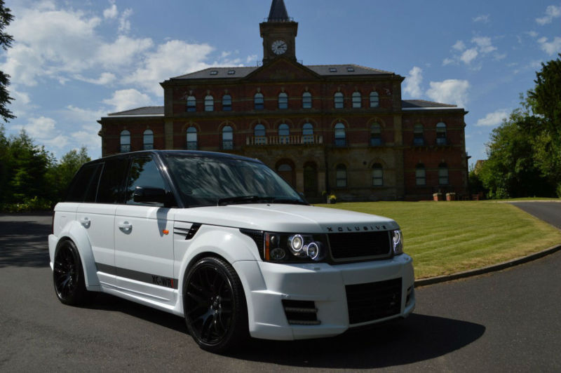 2007 land rover range rover sport 2 7 v6 hse custom xclusive bodykit kahn onyx in sheffield. Black Bedroom Furniture Sets. Home Design Ideas
