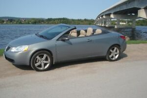 nice 2007 Pontiac G6 gt Convertible only 64.700 km