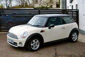 2007 MINI COOPER D FMSH 1 OWNER 48K PEPPER WHITE £127 PER MONTH!