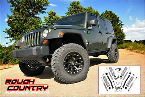 Rough Country - LIFT KIT 3.5'' Jeep Wrangler Unlimited 07-17