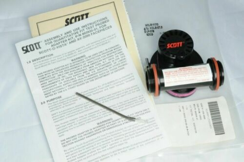 Scott Filter Adapter 803930-01 Respirator Av-2000, 3000 & O-Vista