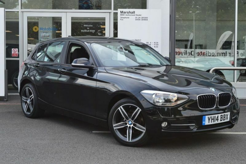 2014 bmw 1 series 116d sport n47 diesel black manual. Black Bedroom Furniture Sets. Home Design Ideas