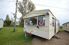 CHEAP FIRST CARAVAN, Steeple Bay, Clacton, Southend, Essex, Hit the Link-->