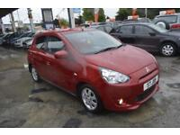 Mitsubishi Mirage 1.2 79bhp AS&G CVT 2013 START&STOP ONE OWNER AUTOMATIC