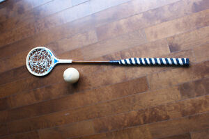 Horse Polocrosse Racket and Ball