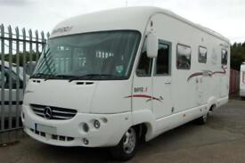 2006 Rapido 997M Mercedes A Class Motorhome with Garage