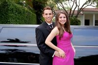 Prom limo rental Wedding limousine service Great luxury service