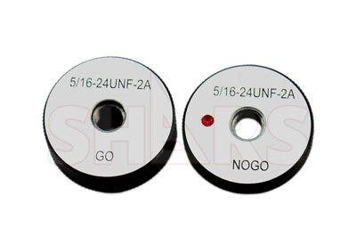 Shars 516-24 Unf Go No-go Thread Ring Gage 2pcs Set New