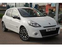 2012 RENAULT CLIO 1.5 dCi 88 GT Line TomTom GBP20 TAX, NAV and LEATHER