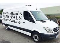 Short-Notice MAN AND VAN Hire £15ph CALL NOW FOR BOOKING