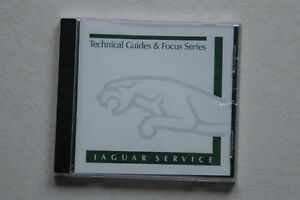Jaguar OEM CD Technical Guides And Focus Series (Like New)