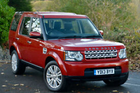 Land Rover Discovery 4 3.0SD V6 ( 255bhp ) auto 2013MY GS Red 7 SEATER