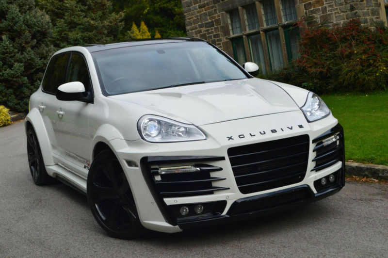 2005 porsche cayenne 4 5 tiptronic auto s custom widearch bodykit not replica v8 in sheffield. Black Bedroom Furniture Sets. Home Design Ideas
