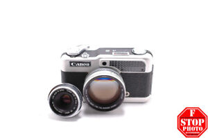Canon Demi C with 50mm f2.8 and 28mm f2.8 Lens