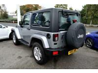 2015 Jeep Wrangler 2.8 CRD Sahara 2dr Auto CONVERTIBLE Diesel Automatic