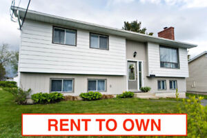 ★ RENT TO OWN ★ 4 bed / 2 bath with Garage - Cole Harbour