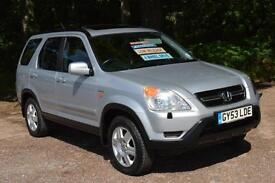 2003 HONDA CR V 2.0 i VTEC SE Executive 5dr Auto only 37,000 miles