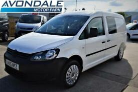 2015 VOLKSWAGEN CADDY MAXI C20 TDI KOMBI 5 SEATS TAIL GATE AND AIR-CON COMBI VAN