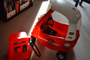 Little Tikes fire truck cozy coupe
