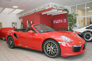 Porsche 911 991 Turbo S Cabrio LED, PCCB, Carbon, BOSE
