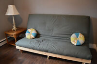 Futon Sofa Bed - like new!