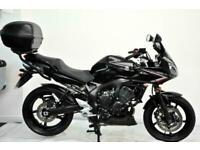 Yamaha FZ6 Fazer S2 2008, 58, Black, Givi Top Box, Heated Grips, Extras.