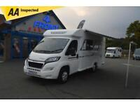 2015 BAILEY APPROACH ADVANCE 635 PEUGEOT BOXER 2.2 DIESEL 6 SPEED MANUAL 130 BHP