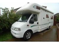 Bessacarr E725 Luxury Rear Lounge Coachbuilt with lots of extras