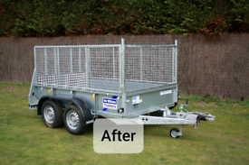 Meshsides to suit a new ifor williams 8x5ft trailer