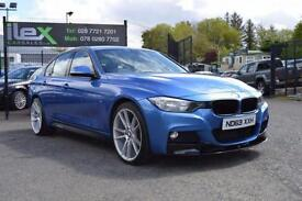 2013 63 BMW 3 SERIES 2.0 320D XDRIVE M SPORT 4D AUTO 181 BHP M-PERORMANCE DIESEL