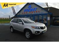 2010 KIA SORENTO CRDI KX-2 2.2 DIESEL 6 SPEED MANUAL 5 DOOR 7 SEATS 4X4 4X4 DIES