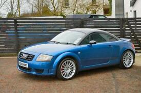 2005 AUDI TT SPORT 240 1 OF 800 MADE MAURITIUS BLUE FSH 2 KEYS LOW RATE FINANCE