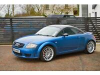 2005 AUDI TT SPORT 240 1 OF 800 MADE MAURITIUS BLUE FSH 2 KEYS LOW RATE FINANCE