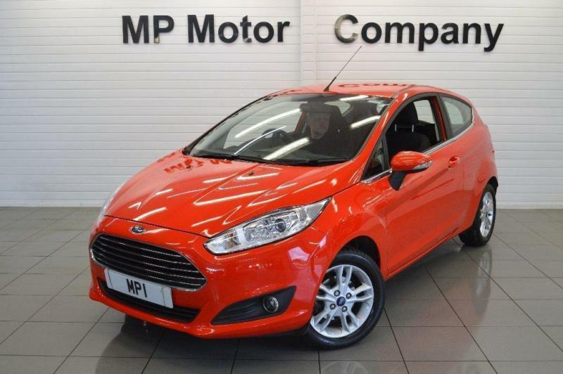 2015/15-FORD FIESTA 1.25 ( 82PS ) ( E6 ) ZETEC 3DR NEWSHAPE HATCH,8-000M FSH.