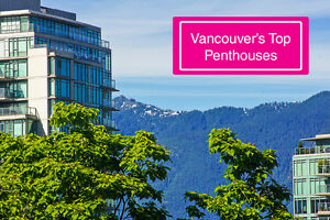 Vancouver's Top 1 Bedroom Penthouses - Exclusive List!