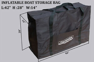 Inflatable boat storage bag