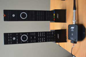 RTI audio system with two remotes Kingston Kingston Area image 2