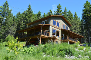 Private home on acreage at Little Heffley Lake