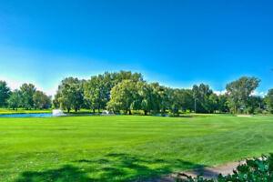 Condo avec vue sur le golf de St-Lambert