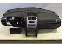 Left hand drive Europe model dashboard plus airbag Peugeot 407 2004 - 2010 LHD