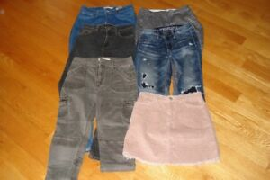 jeans,jupe