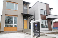 Upscale new homes near the University, Open House Today.