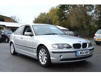 2004 04 BMW 320 2.0 TD ES TURBO DIESEL 6 SPEED MANUAL SILVER PX SWAP SWOP