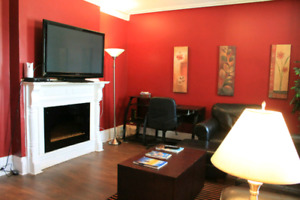 Completely Furnished, City Center, A.C., Parking, call 999.1917